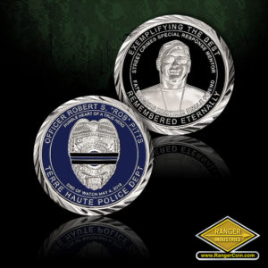 SC-5416 Officer Rob Pitts Memorial Coins