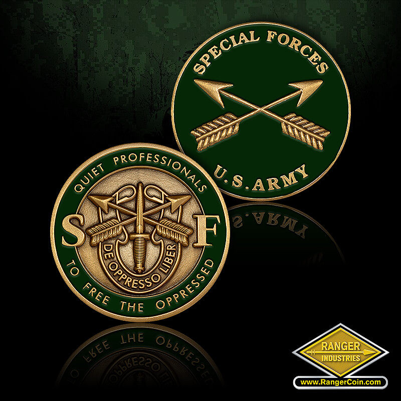 Army Special Forces - Special Forces, U.S. Army, crossed arrows, Quiet Professionals, SF, De Opresso Liber, To Free the Oppressed