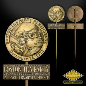 SC-5571 Boston Tea Party Grave Marker