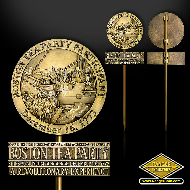 Boston Tea Party Grave Marker - Boston Tea Party Participant, December 16, 1773, Donated in Honor of the 245th Anniversary of the Boston Tea Party, Ships & Museum, A Revolutionary Experience