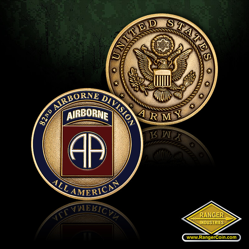82nd Airborne - 82nd Airborne Division, All American, United States Army