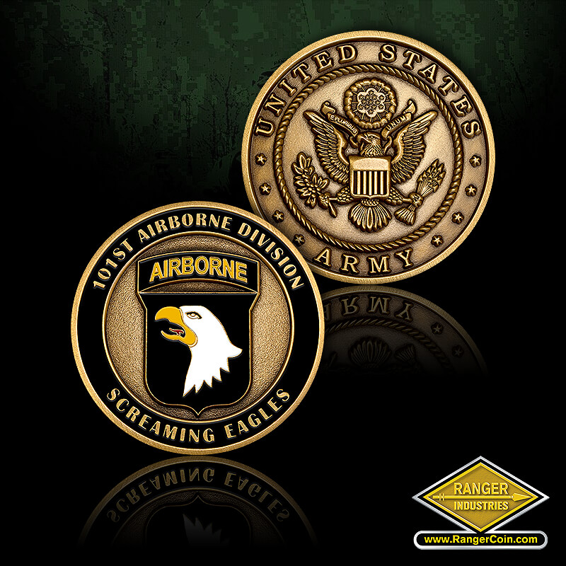 101st Airborne - 101st Airborne Division, Screaming Eagles, United States Army