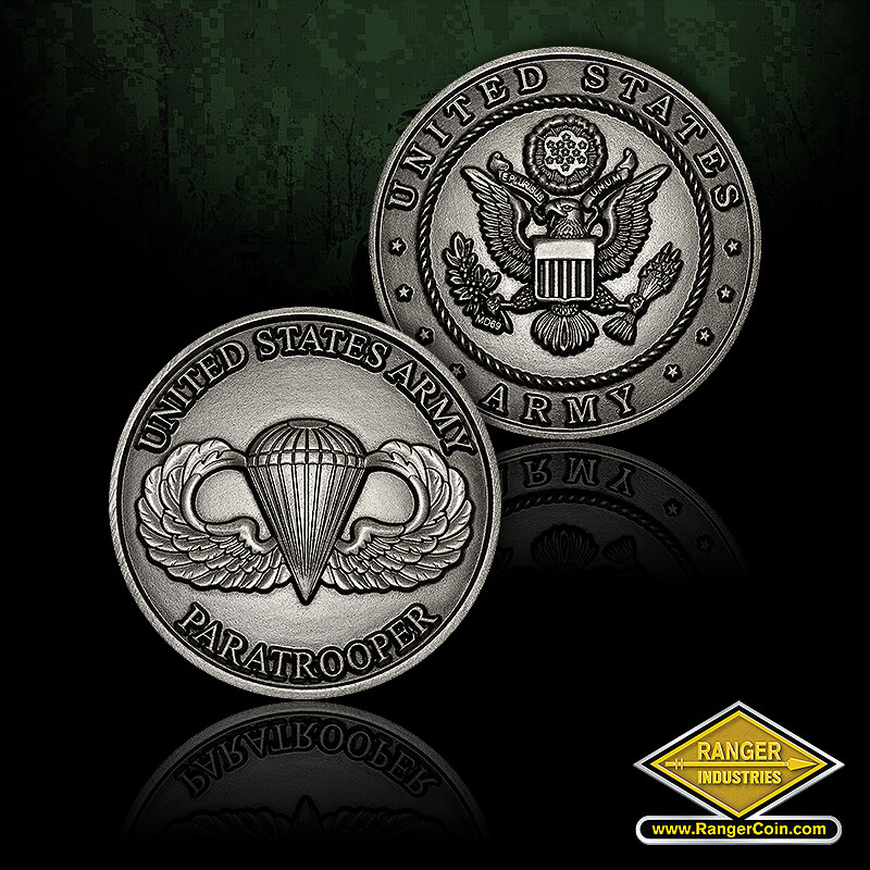 Paratrooper - United States Army Paratrooper, United States Army