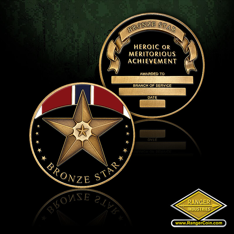 Bronze Star Coins
