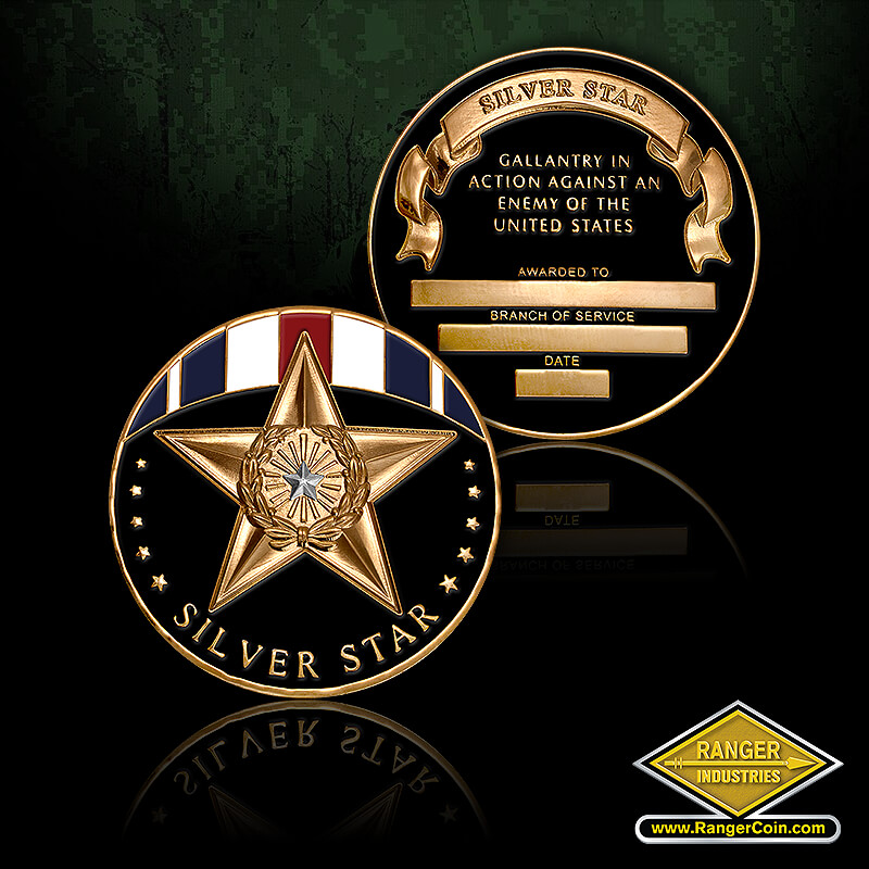 Silver/Gold  Star - Silver Star, Silver Star, Gallantry in Action Against an Enemy of the United States