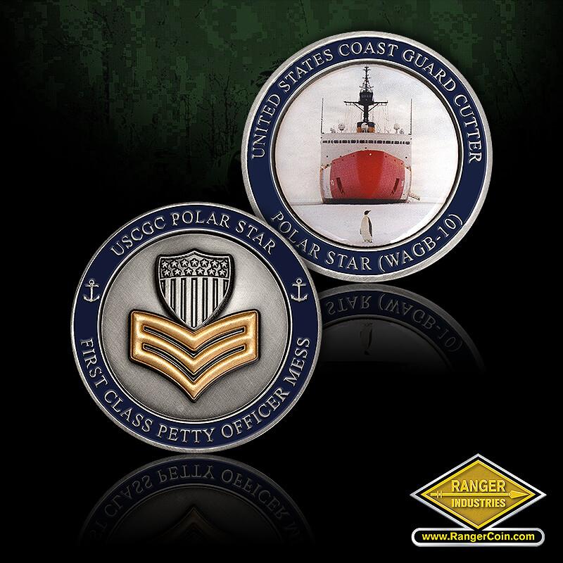 1st Class Mess CGC Polar Star - United States Coast Guard Cutter, Polar Star (WAGB-10), USCCG Polar Star, First Class Petty Officer Mess
