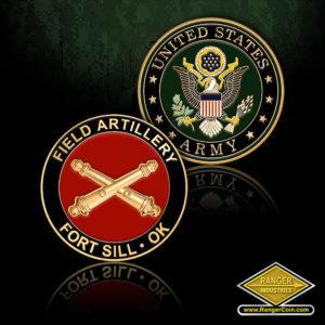 SC-5780 U.S. Army Field Artillery Fort Sill, OK Challenge
