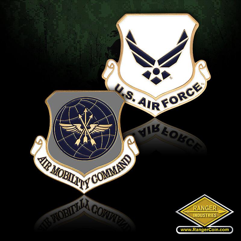 Air Force Air Mobility Enamel