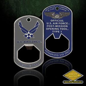 SC-1378 USAF Mission Bottle Opener – Integrity First