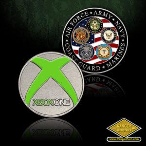 SC-1388 Xbox Military coin