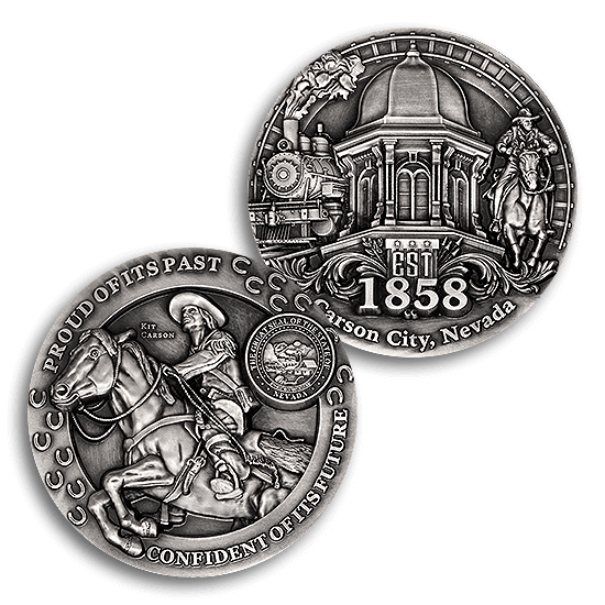 High-Relief Medals