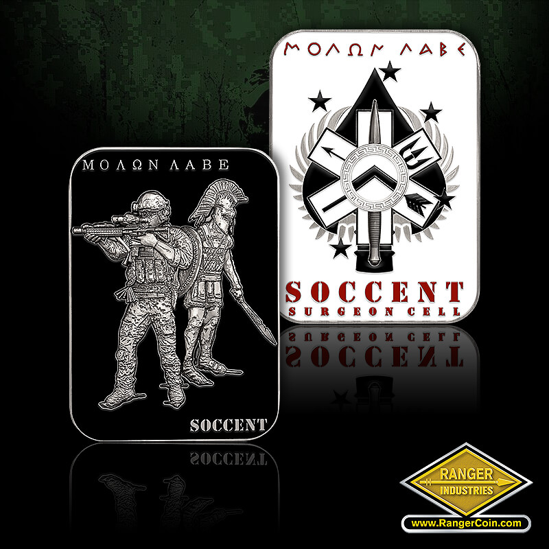 SOCCENT Surgeon Molon Labe