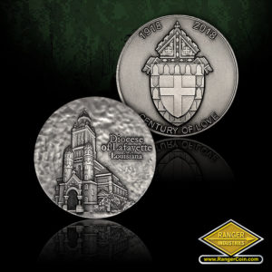 SC-5605 Diocese of Lafayette .999 Silver