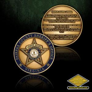 SC-5891 Fairfax County SO Honor Guard