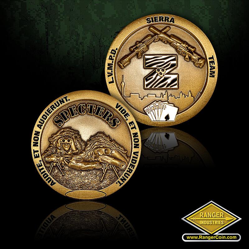 Las Vegas SWAT Coins
