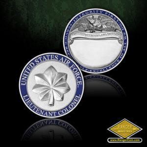 SC-1085 USAF Lt Col Rank coin