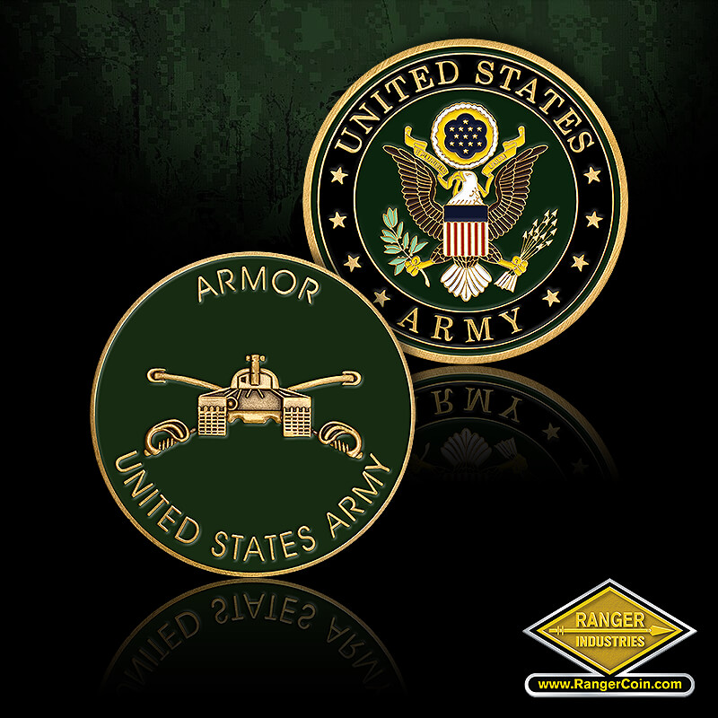 AFD US Army Armor - Armor, United States Army, Tank, United States Army