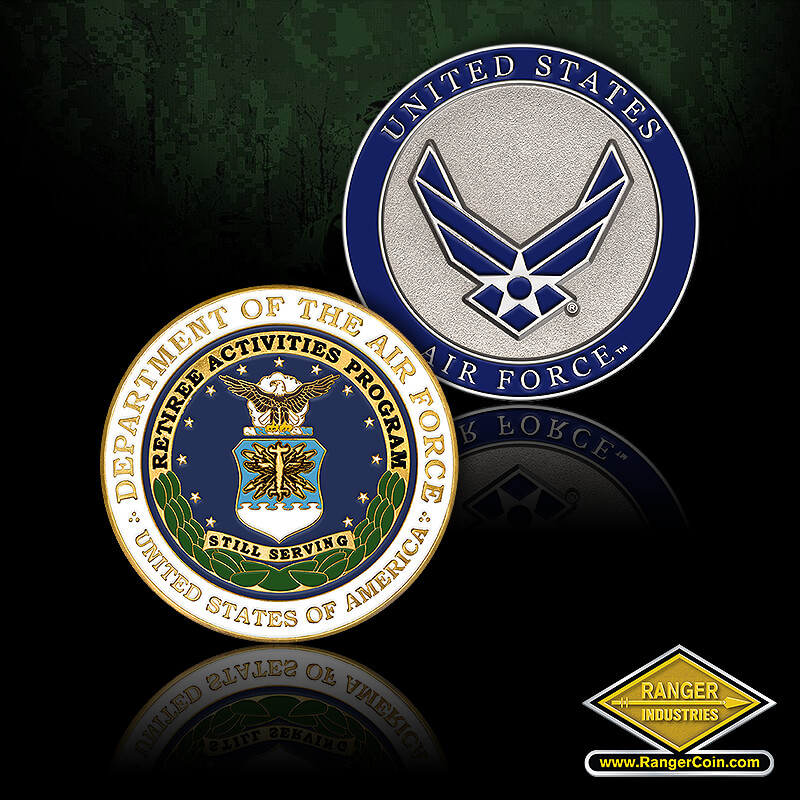 Retiree Activities Air Force - Department of the Air Force, United States of America, Retiree Activities Program, Still Serving, United States Air Force, USAF