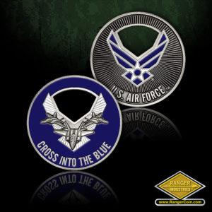 SC-1191 USAF Cross Into The Blue