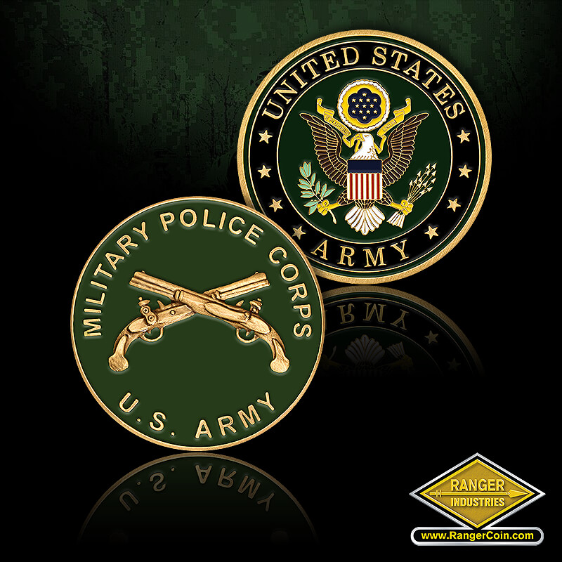 USA Mil Police - Military Police Corps, U.S. Army, dueling pistols, United States Army