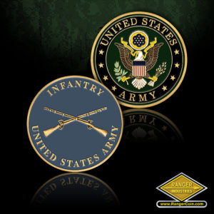 SC-1232 U.S. Army Infantry Coin