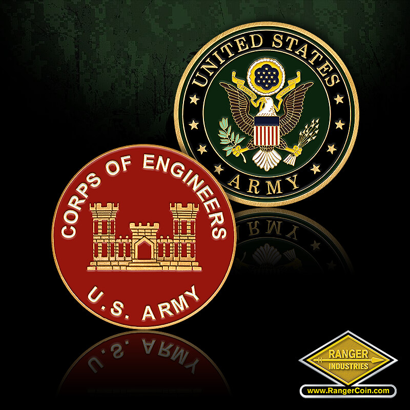 USA Corps of Engineers - Corps of Engineers, U.S. Army, castle, United States Army
