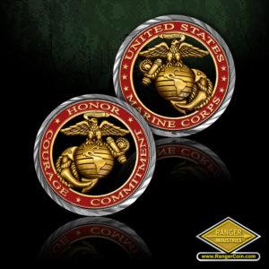 SC-5129 Core Values – U.S. Marine Corps Coin