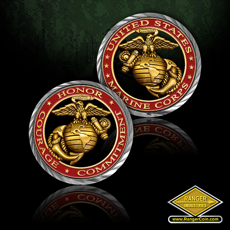 Core Values – U.S. Marine Corps Coin