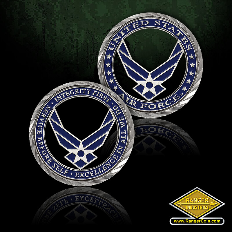 Core Values – U.S. Air Force Coin