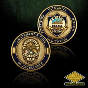 SC-6134 Mesa PD Lieutenant's Coins