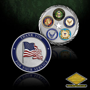 SC-1456 Thank You For Your Service Coin
