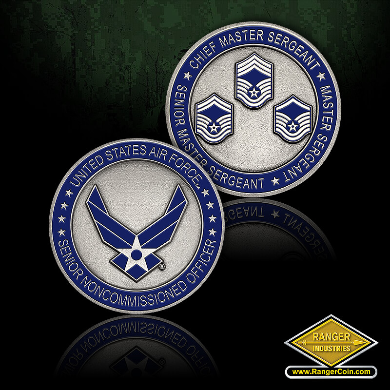SR Non-Commissioned Officers - United States Air Force, Senior Noncommissioned Officer, Chief Master Sergeant, Senior Master Sergeant, Master Sergeant