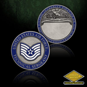 USAF Tech Sgt Engravable
