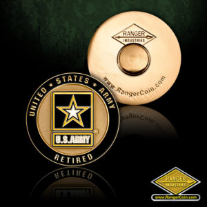 SC-6193 Army retired pin