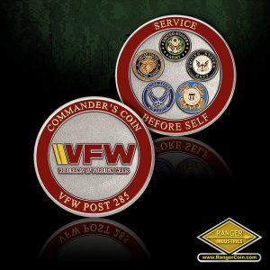 SC-6473 VFW Post 285 Coins
