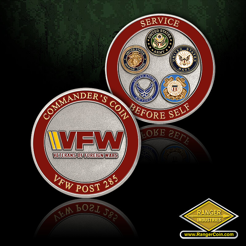 VFW Post 285 Coins