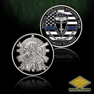 SORT Thin Blue Line Coins