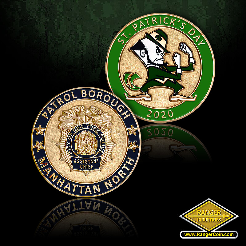 NYPD Patrick's Day Coin