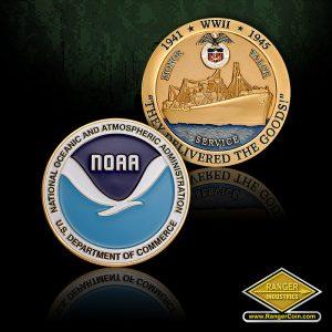NOAA Merchant Marine Coins