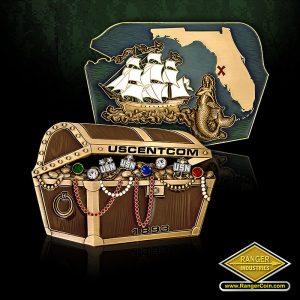 SC-3382 USCENTCOM treasure chest