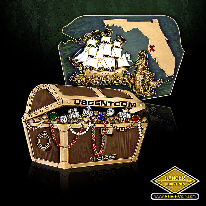 USCENTCOM treasure chest
