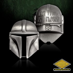 SC-3408 American Snipers helmet coin
