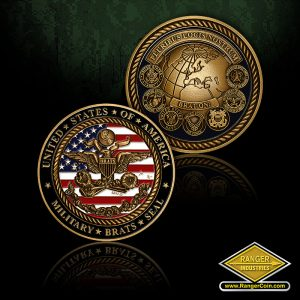 Military Brat Seal Coins