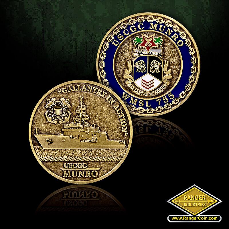 USCGX CC2173 Munro Coin