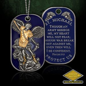 St. Michael Dog Tag