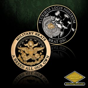 SC-6508 Military Brat Seal Dandelion Coin