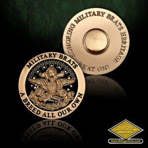SC-6509 Military Brat Seal pin #2