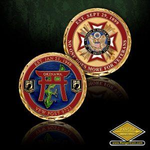 SC-6523 VFW Post 9723 Coin