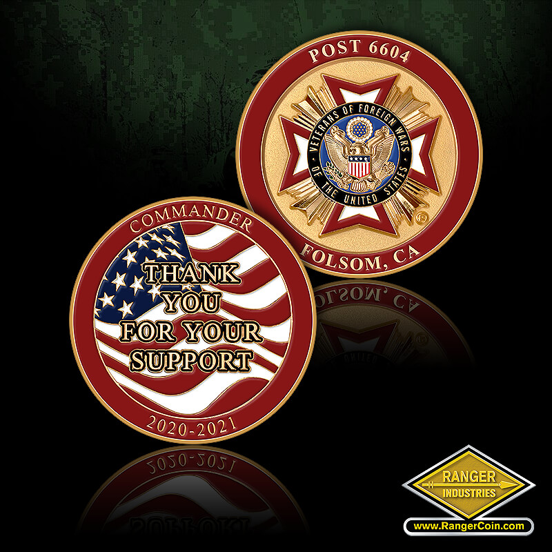 VFW Post 6604 - Post 6604 Folsom CA, Thank you for your support