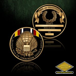 RI-13081 Global War on Terrorism Service Medal Coin
